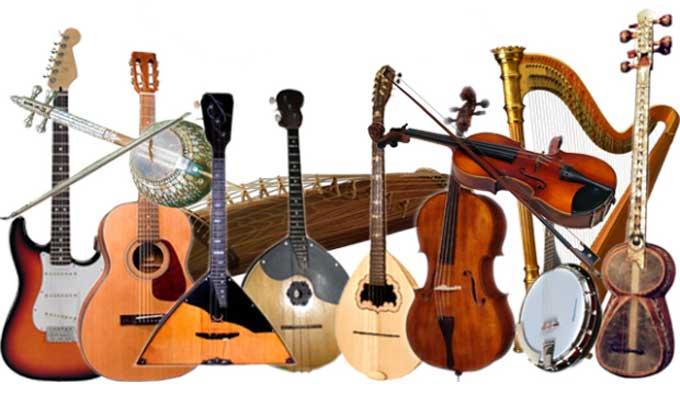 Liste des Instruments de Musique, de A à Z